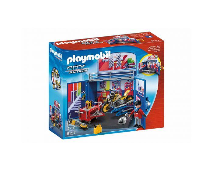 Playmobil Speelbox Motorwerkplaats - 6157