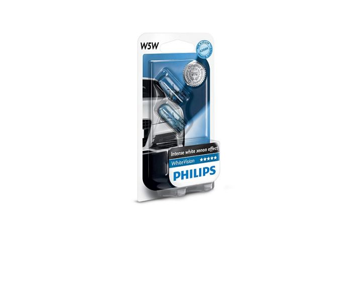 Philips Whitevision W5W set