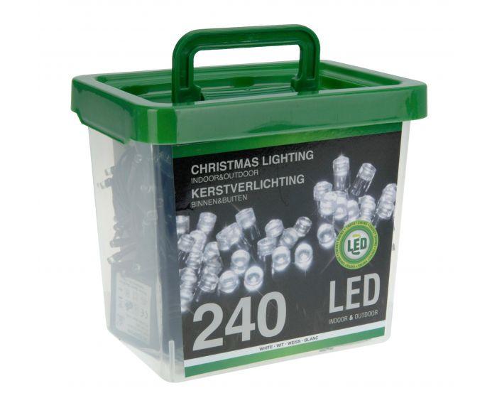 LED verlichting 240 lampjes in emmer