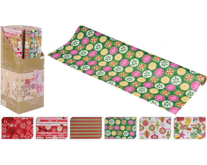 Inpakpapier kerst 70 x 800 cm