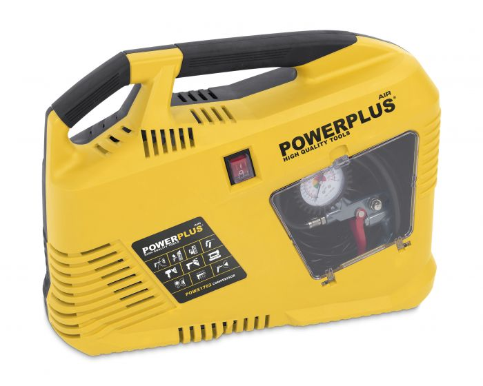 Powerplus POWX1702 aircompressor 1100W