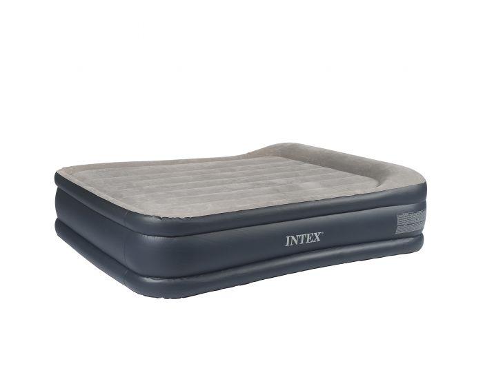 Intex Deluxe Pillow Rest Raised Bed Queen 2 persoons