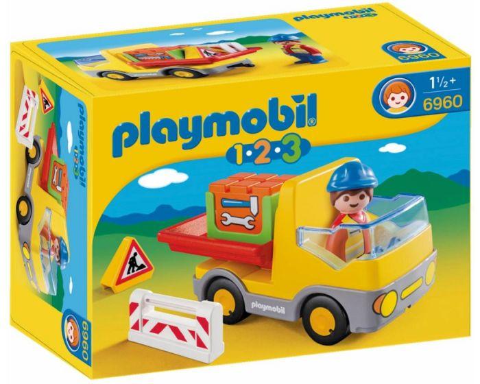Playmobil 123 Vrachtwagen met laadklep - 6960