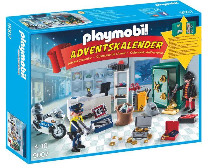 Playmobil Adventskalender Op heterdaad betrapt - 9007