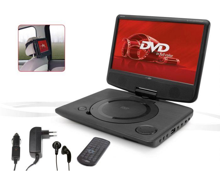 Draagbare DVD speler met 10