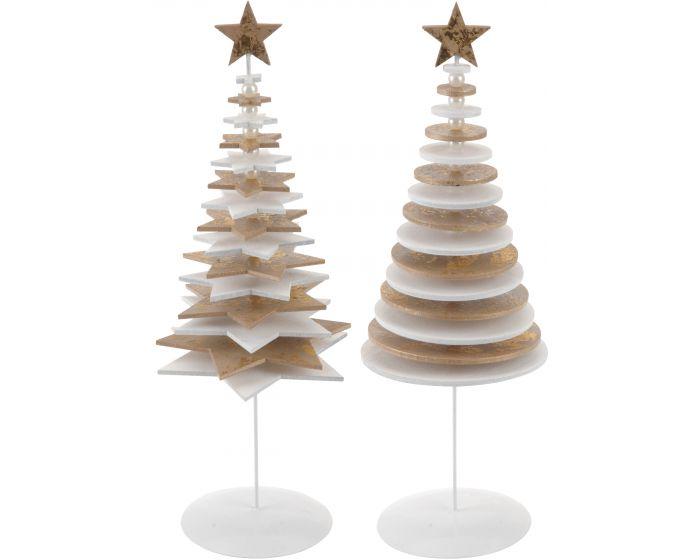 Kerstboom Wit 27cm