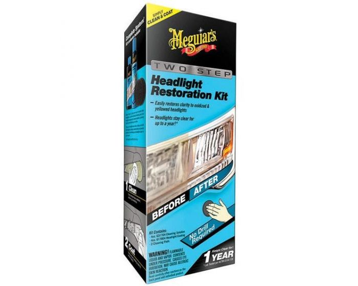 Meguiars Perfect Clarity Headlight Restoration Kit G2000EU