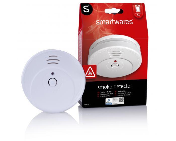 Rookmelder Smartwares met optische sensor