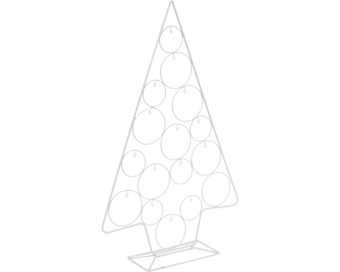 Kerstboom met haakjes voor decoratie