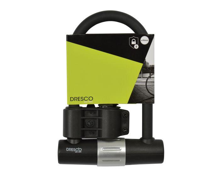 Beugelslot 18x24,5 cm 16mm + steun