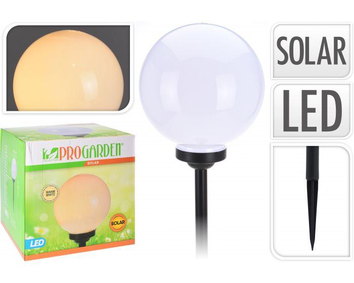 Solar bal warm wit - 25 cm