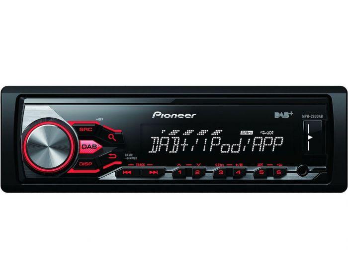 Pioneer MVH-280DAB Autoradio DAB+