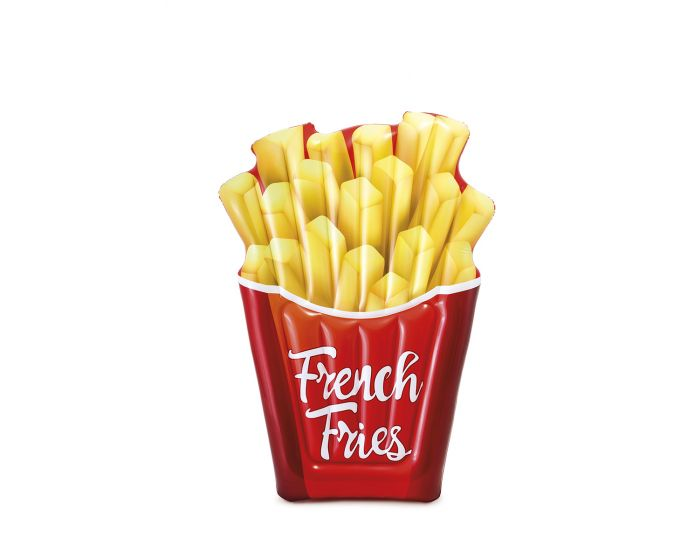 Intex luchtbed french fries zwembad speelgoed for Heuts zwembad