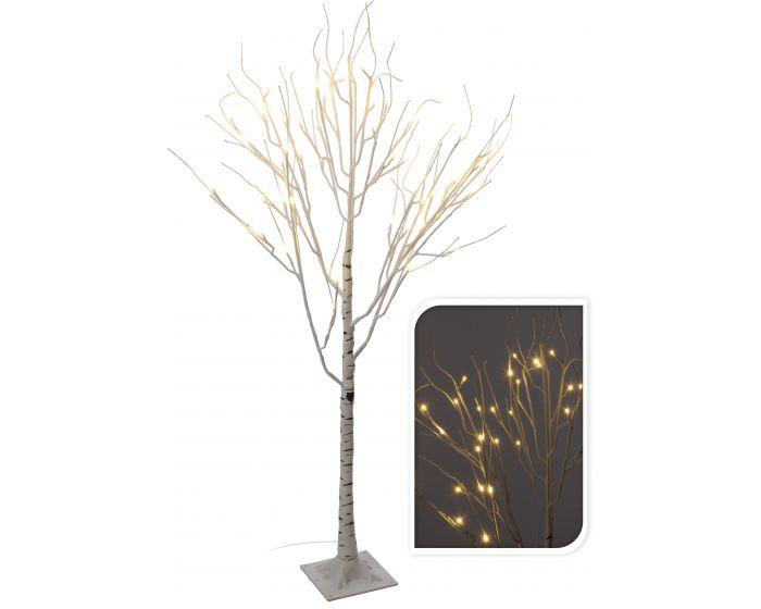 Berkenboom met 48 LED 120cm