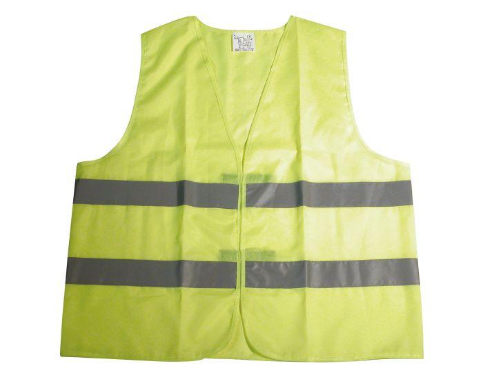 Veiligheidsvest reflecterend junior geel