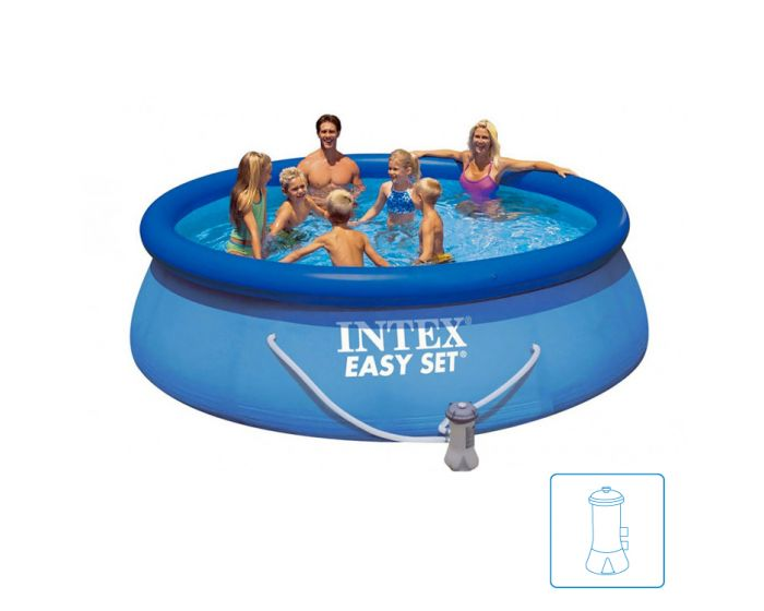 Intex Easy Set Pool Ø 366 x 76cm (incl. filterpomp)
