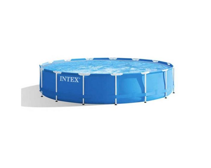 Intex Metal Frame Pool Ø 457 x 84 cm (set)