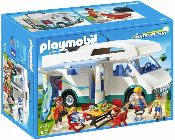 Playmobil grote familiecamper 6671