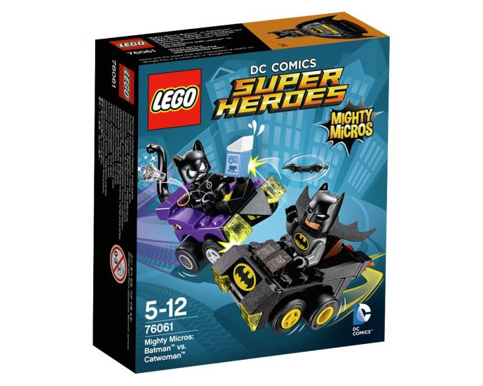 LEGO Super Heroes Mighty Micros Batman vs. Catwoman - 76061