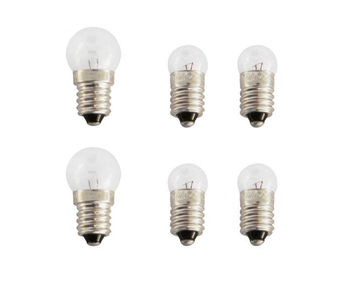 Reservelampjes 2x voor 4x achter