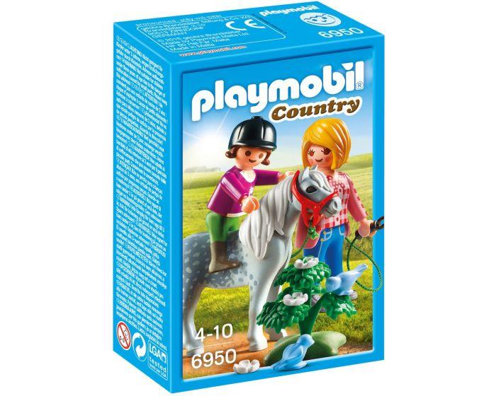 Playmobil Ponyrijden met mama - 6950