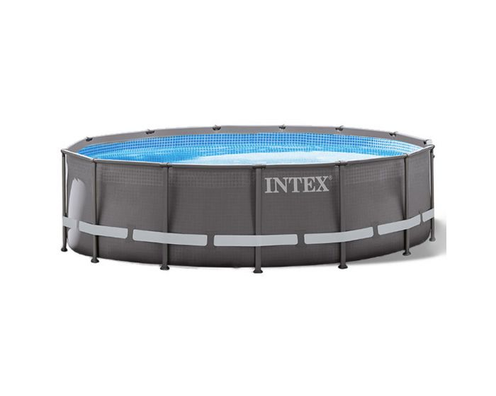 Intex ultra frame pool 427 x 107 for Heuts zwembad