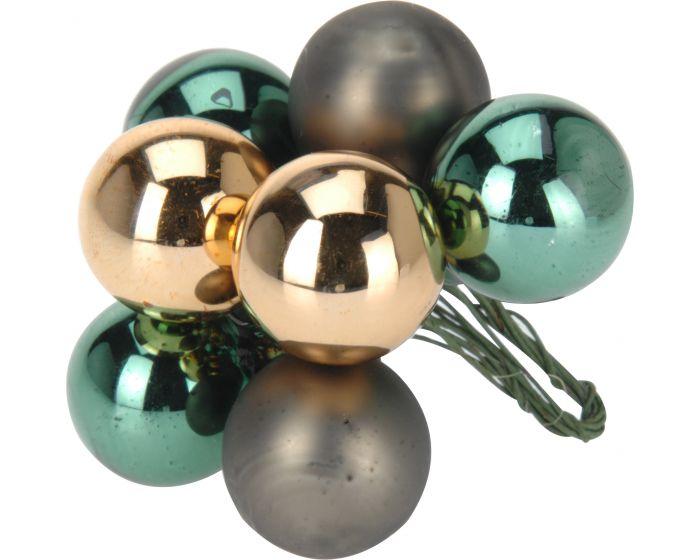 Kerstbal 10x25 mm