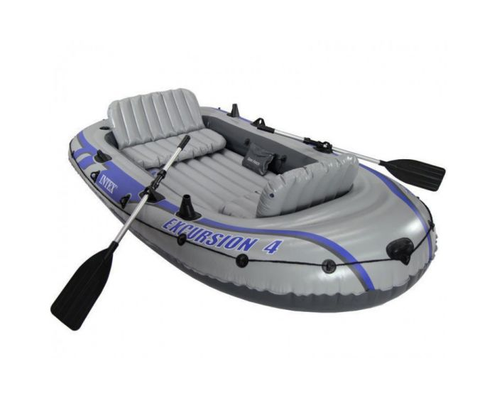 Opblaasboot Intex - Excursion 4 Set