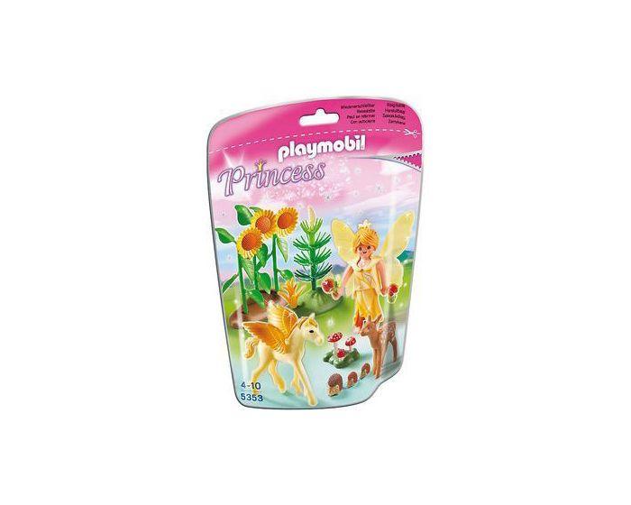 Herfstfee met Pegasusveulen - Playmobil 5353