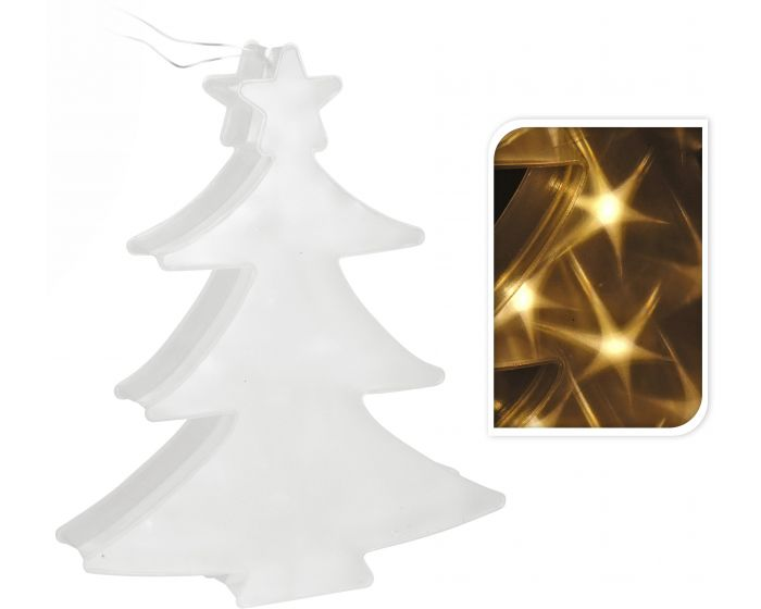 Kerstboom met LED verlichting 35cm