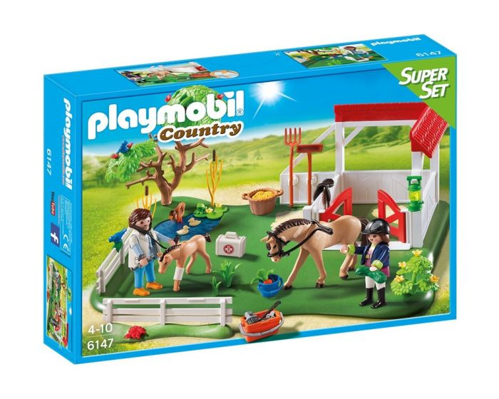 Playmobil SuperSet Eerste Hulp in de stal - 6147