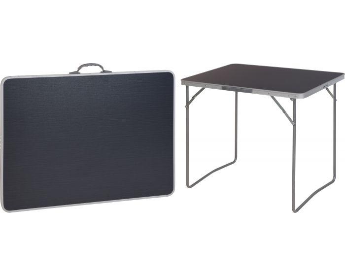 Campingtafel opvouwbaar grijs 80x60cm