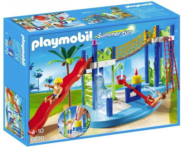 Playmobil Waterspeeltuin 6670