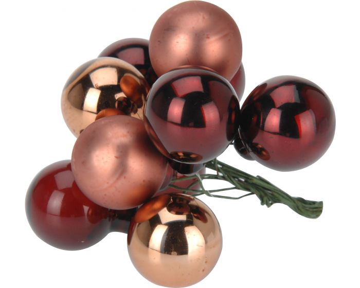 Kerstbal 10 x 25 mm