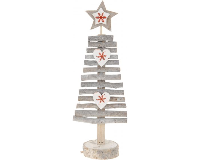 Houten kerstboom 25 cm