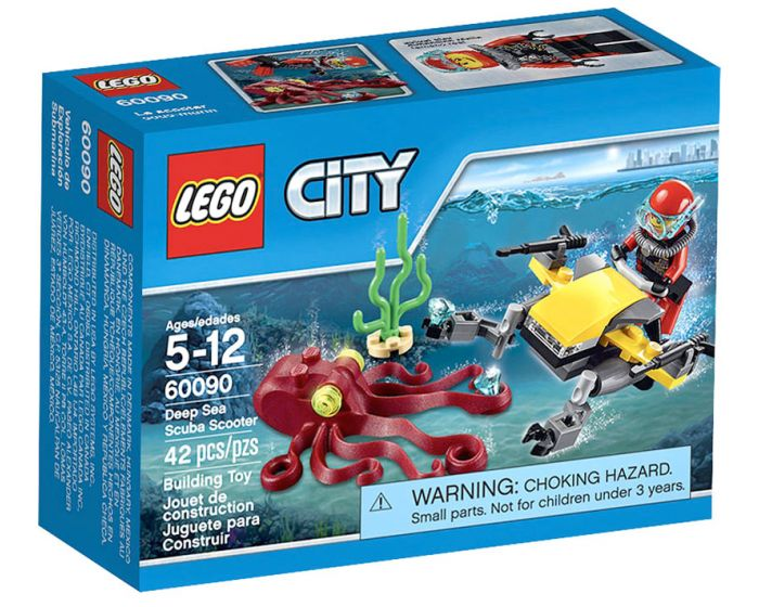 LEGO City Diepzee Duik Scooter - 60090