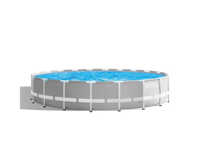 INTEX™ Prism Frame Pool - Ø 610 x 132 cm (set)