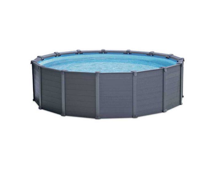 Intex Graphite Panel Pool Ø 478 cm (set)