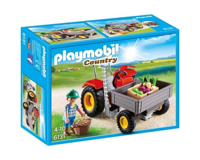 Playmobil Tractor met laadbak - 6131