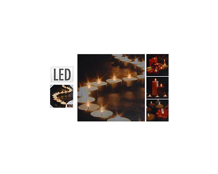 Schilderij met LED licht