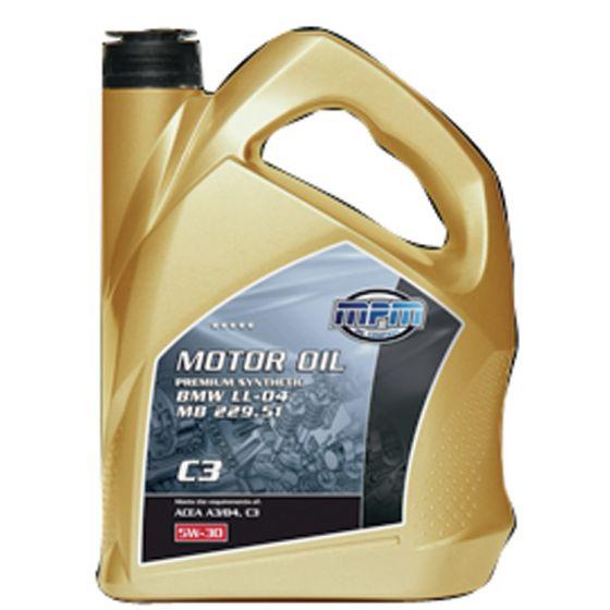 Fantastisk MPM motorolie 5W30 Premium Synthetic C3 DPF 5 liter MF11