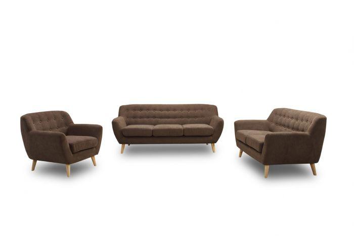 Zits bank mayfair bruin meubels online kopen heuts