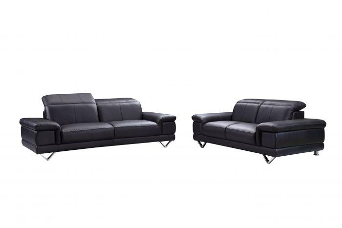 2 zits bank discovery zwart meubels online heuts.nl