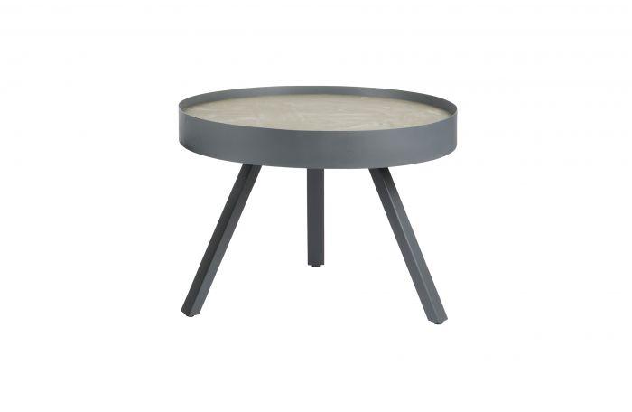 Salontafel Van Beton : Woood skip medium salontafel beton 58cm Ø meubels online