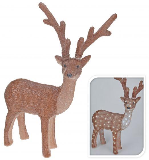 Rendier LED 38x60 | Kerstverlichting & decoratie online | Heuts.nl