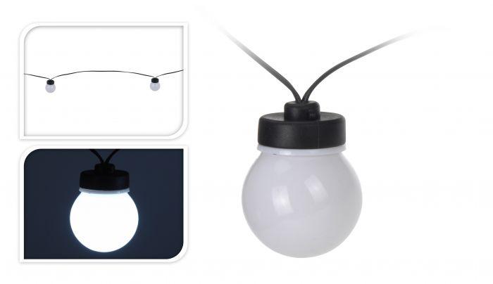 Feestverlichting Wit 20 Lampen   Partytent accessoires online   Heuts.nl