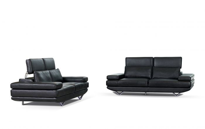 Zits bank montego zwart meubels online heuts