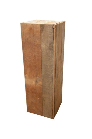 c5fe3b14d7b Houten Pilaar 40x40x120 cm   Decoratie   Heuts