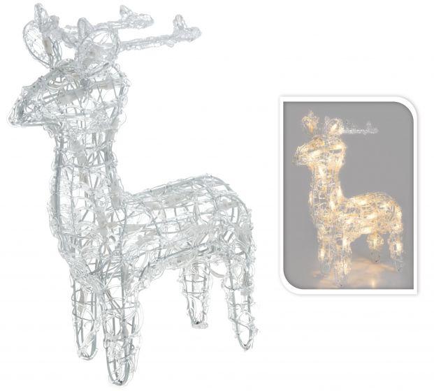 Rendier LED wit   Kerstverlichting & decoratie online   Heuts.nl