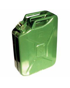 Jerrycan 20ltr metaal groen
